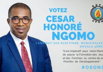CESAR NGOMO : Municipales 2020 – Osons Le Développement de Douala 3ème