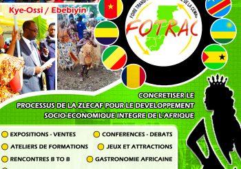 FOTRAC 2020 : Foire Transfrontalière Annuelle Des Pays D'Afrique Centrale
