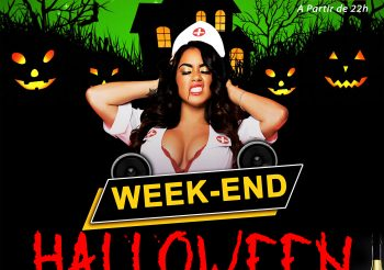 LES SAINTS PERES LOUNGE : Week-End Halloween